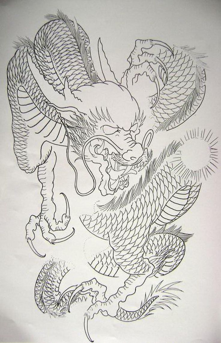 Dragon 10 from my book...