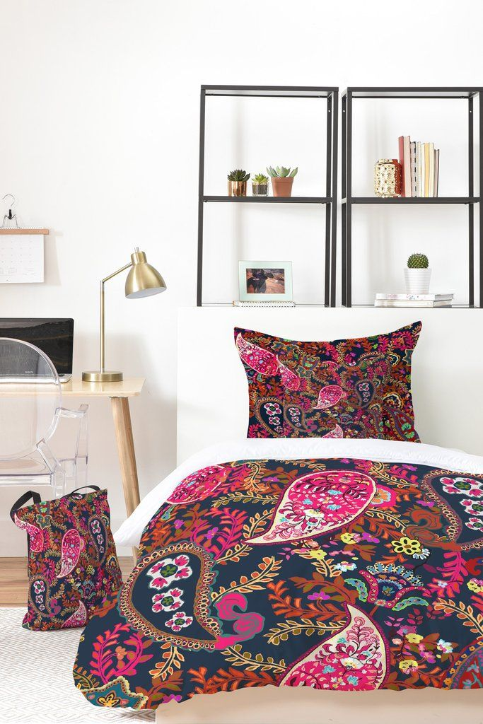 Rachelle Roberts Boho Paisley Bed In A Bag | DENY Designs Home Accessories