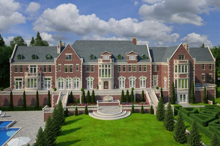 Homes & Mansions: Large Mansion For Sale in Mount Kisco, NY For $29,500,000 WITH FLOOR PLANS!!!!!!!!!!!