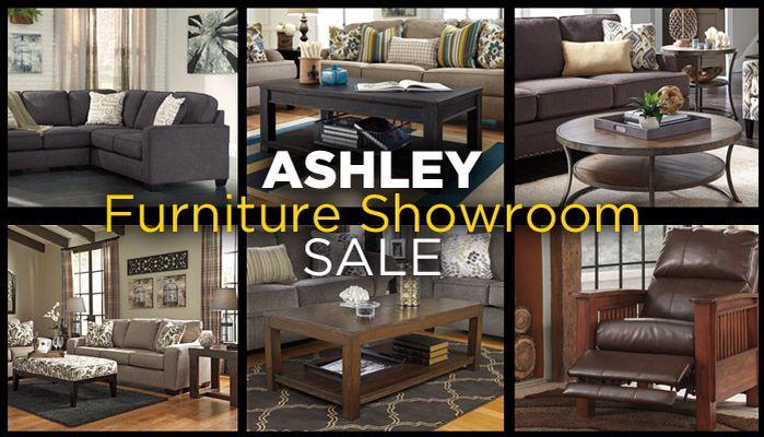 Ashley Furniture showroom sale until June 1st