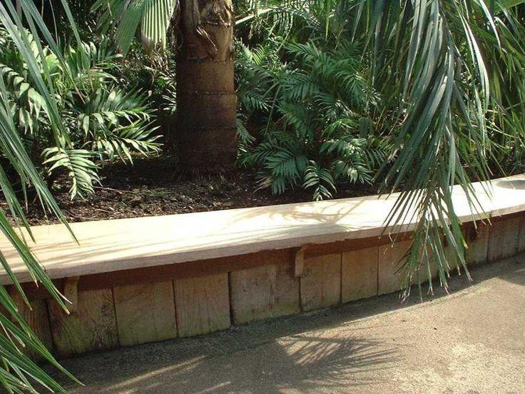 Garden Design Using Railway Sleepers 50 best garden bench/seat ideas images on pinterest | garden