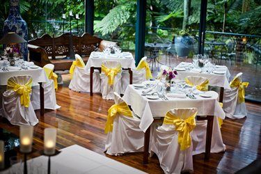 Gold Coast / Tweed Heads Pethers Rainforest Retreat wedding receptions