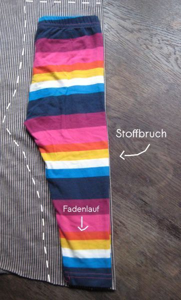Schnitt abnehmen Schnittmustererstellung Hose auflegen – Silke Kardel