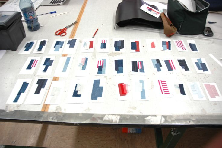 Working out colour combinations