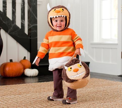 baby where the wild things are monster costume pottery barn kids - Max Halloween Costume Where The Wild Things Are