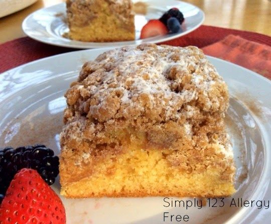Gluten Free Crumble Coffee Cake & More! - Life Made Full