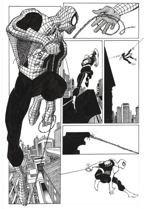 SPIDER-MAN BY JOHN ROMITA JR.