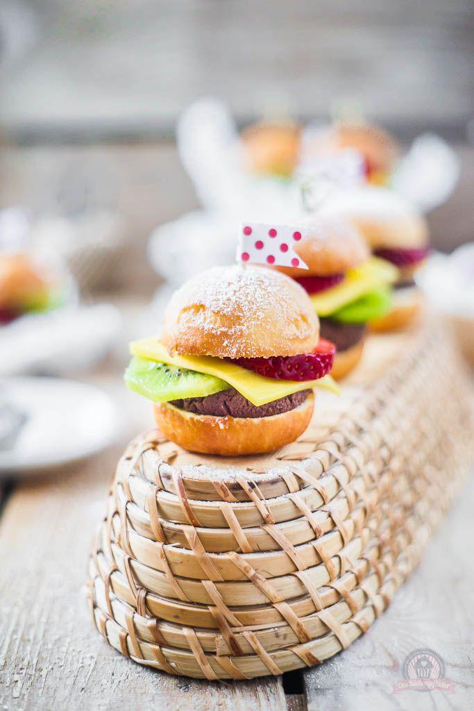 Fruchtige Hamburger - eine kleine süße Augenweide, die zu jeder Feier passt... - Powered by @ultimaterecipe