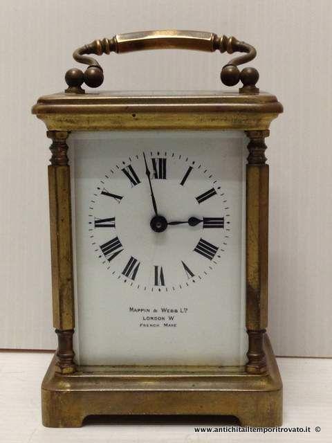 Oggettistica d`epoca - Orologi e portaorologi Antico orologio - Antico officer Mappin e Webb Immagine n°1