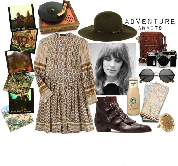 """Adventure Awaits."" by hippierose on Polyvore"
