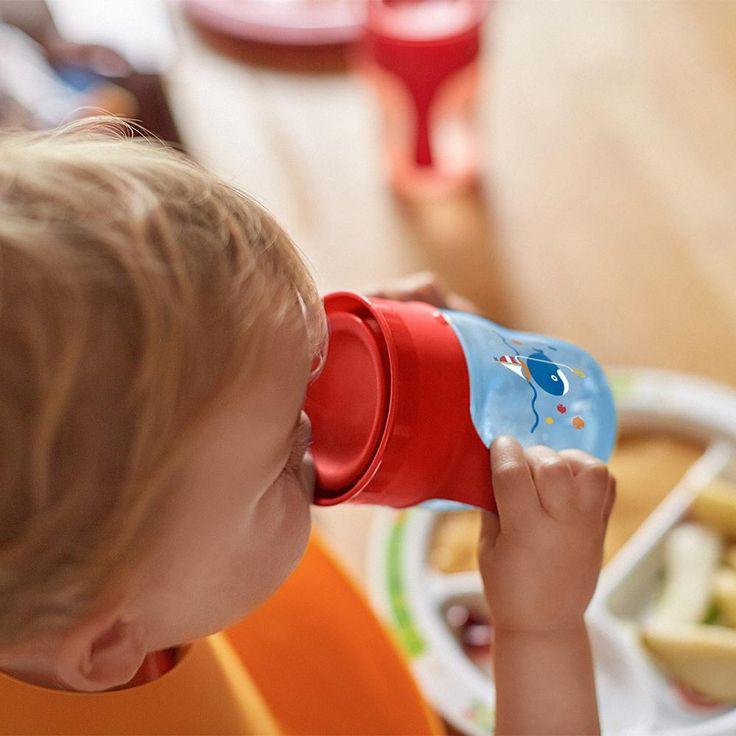 Philips Avent SCF782/15 Trinklernbecher 260ml, Flaschenverschluß- rot