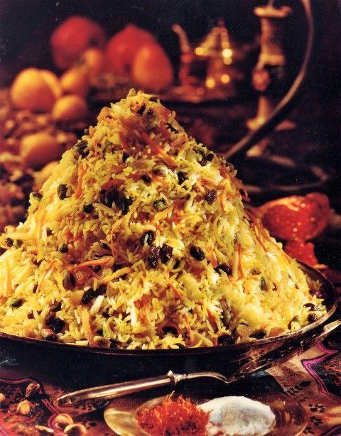 Exotic Saffron Rice