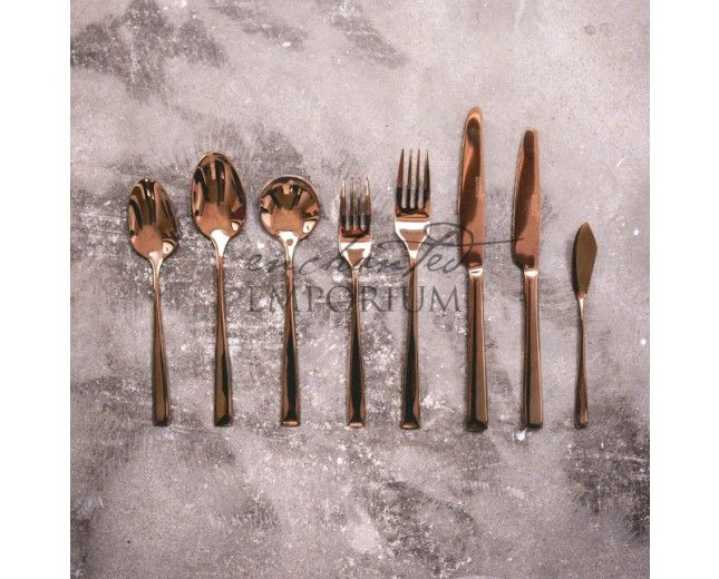Bronze Cutlery Hire | Enchanted Emporium Bronze cutlery is a stunning alternate to Gold or Copper cutlery. Perfect for rustic themed weddings and events.