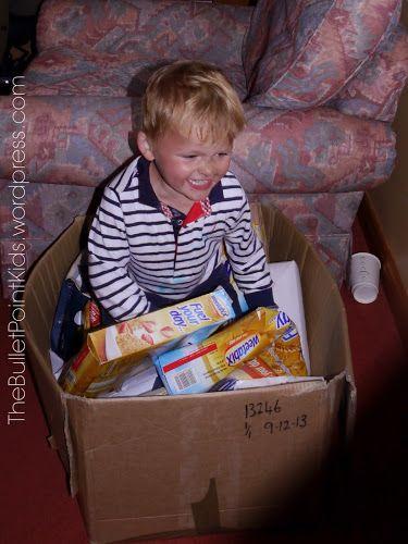 Děti v krabici (Kids in the box) – Zábava pro deštivé dny | thebulletpointkids