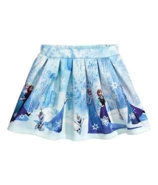 Scuba-look Skirt