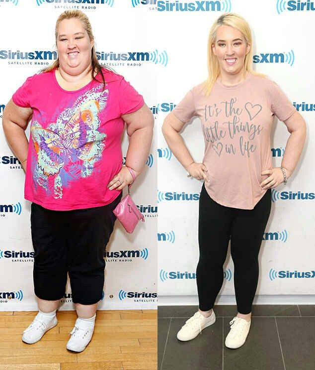 Mama June weight loss goals; sleeve