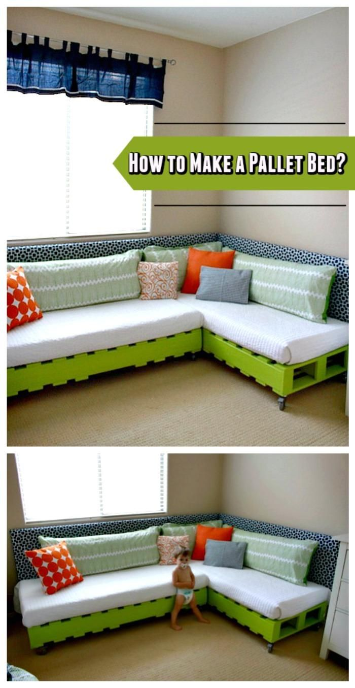Pallet Corner Bed/Sofa Instructions - 150 Best DIY Pallet Projects and Pallet Furniture Crafts - Page 19 of 75 - DIY & Crafts