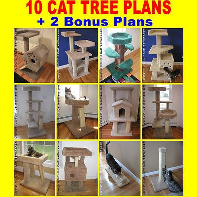 25 best ideas about cat tree plans on pinterest cat for Do it yourself cat condo