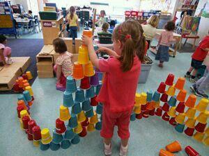 Cup building