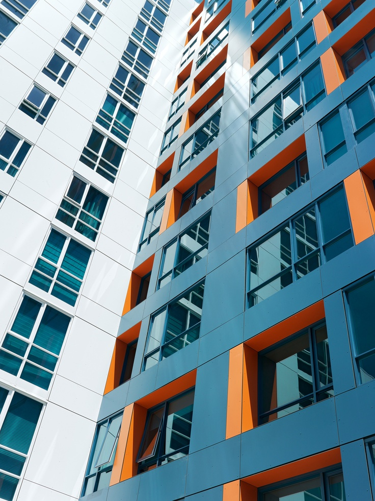 102 best apartment building color images on pinterest for Top architects san francisco