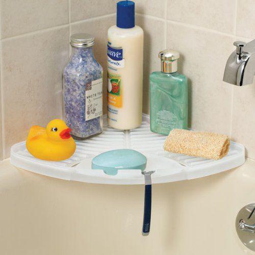 shower corner shelf by regal. Black Bedroom Furniture Sets. Home Design Ideas