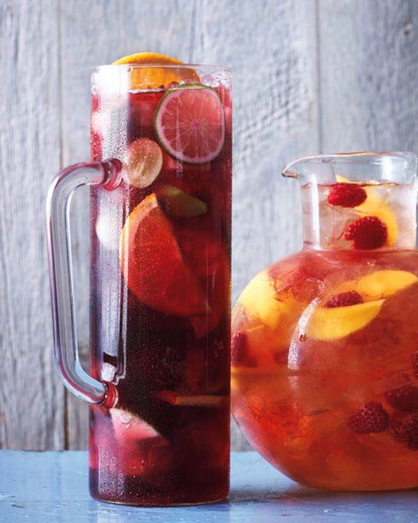 ... Raspberry Mango Sangria, Mango Raspberry Sangria, Food, Martha Stewart