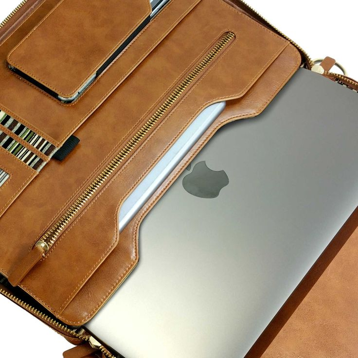 Leather Folio case for Macbook 12 13 / iPad / iPad Pro 9.7 | Tuff-Luv