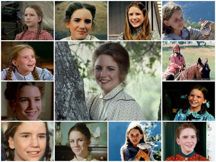 Laura Ingalls Wilder Sweet lil half pint (Something really private (?) so watch an actress growing up for so long in a TV show :-) )