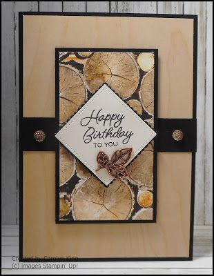 Independent Stampin Up Kings On Paddington Happy Birthday To You