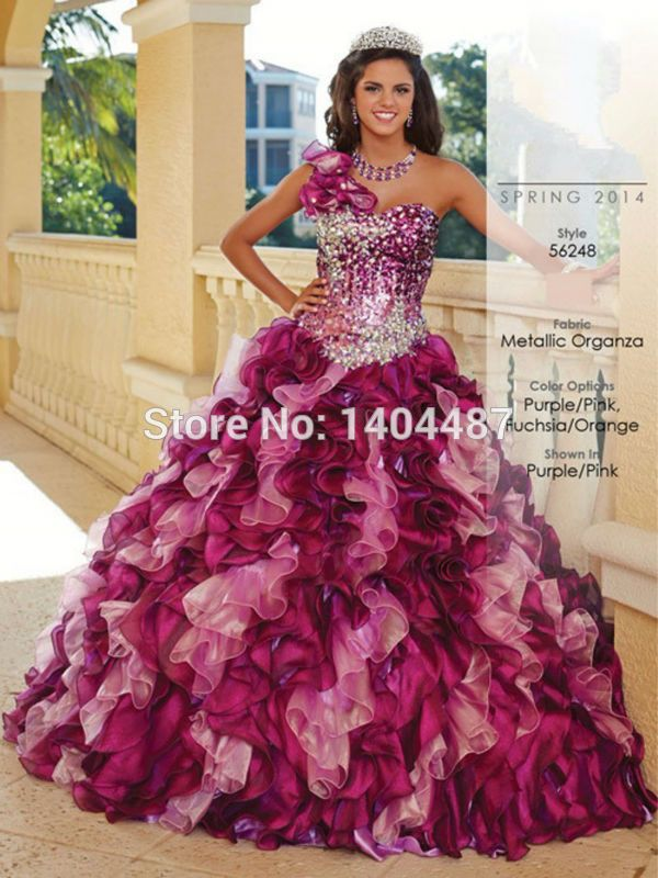Aliexpress.com : Buy Trajes De Quinceaneras 2015 Masquerade Sweet 16 Dresses Ball Gowns Puffy One Shoulder Beaded Quinceanera Dresses Vestido 15 Anos from Reliable dress support suppliers on Suzhou Relia Wedding&Event  | Alibaba Group