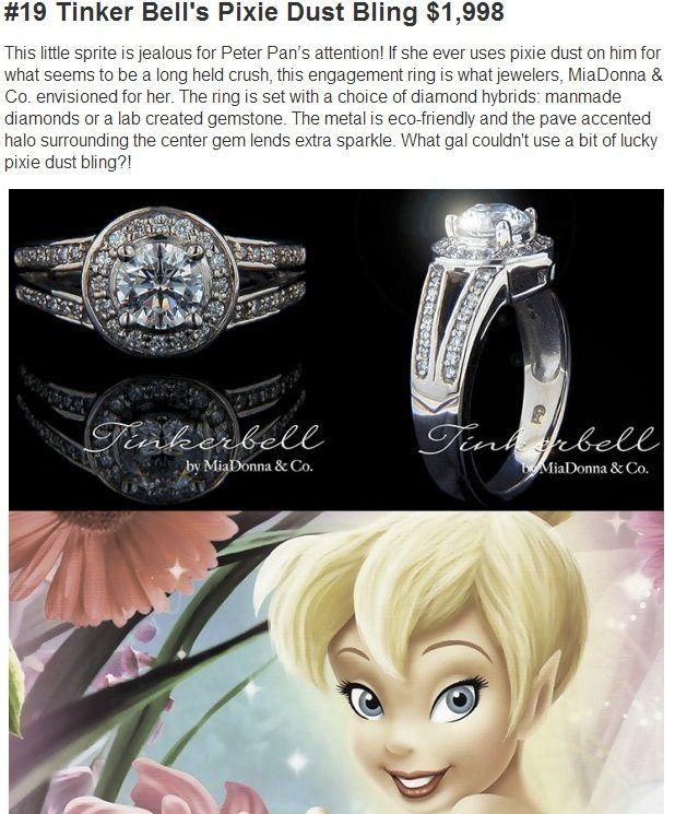 42 best DISNEY ENGAGEMENT RINGS images on Pinterest Disney