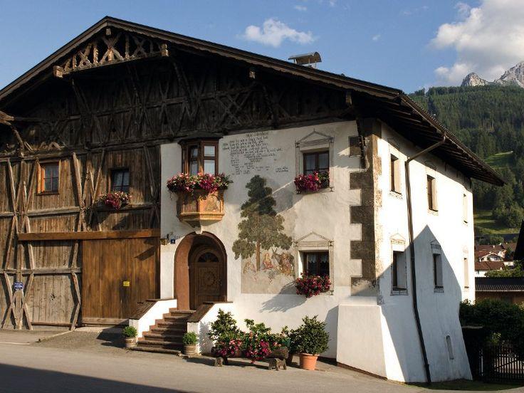 Farm house in austria fachadas pinterest casa linda - Casas rurales ecologicas ...