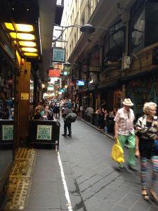 Love Melbourne's lane ways. Degraves Street. https://leaveyslair.wordpress.com