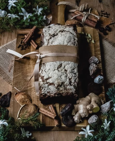 Glutenfritt teffbröd med julens kryddor