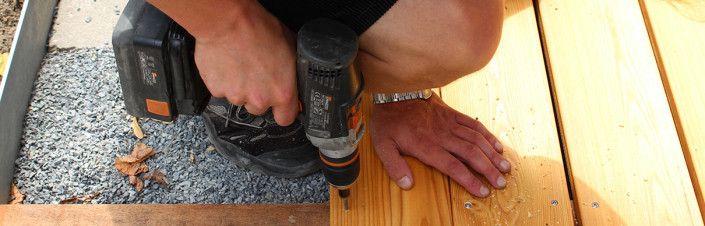 Terrassenholz: sibirische Lärche oder Douglasie