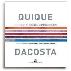 Quique Dacosta presents a new Universe. The book includes a personal card that will give you access to the private area of the website content