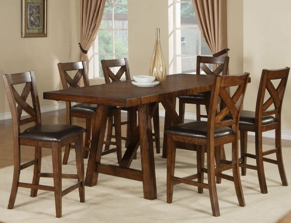 Chalet Gathering Set Table And Four Barstools 799 99 Available At Just Cabinets Furniture