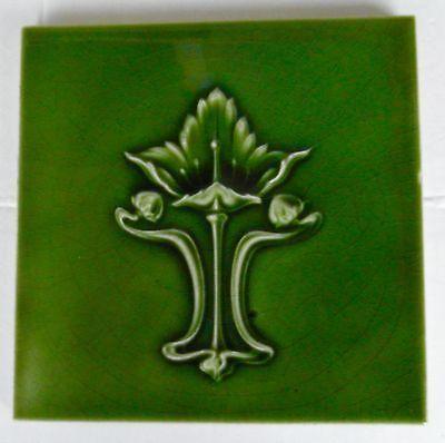 """Original   English  Art Nouveau tile  c1905 6""""x6""""Tile 773"""