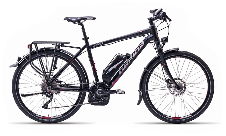Gepida Electric Bicycles - The Berig - Outstanding range and great lightweight frame.