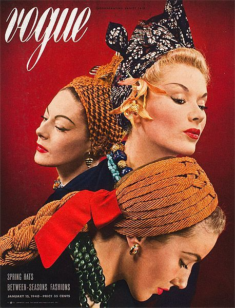 348 best vogue covers1940sphoto images on pinterest