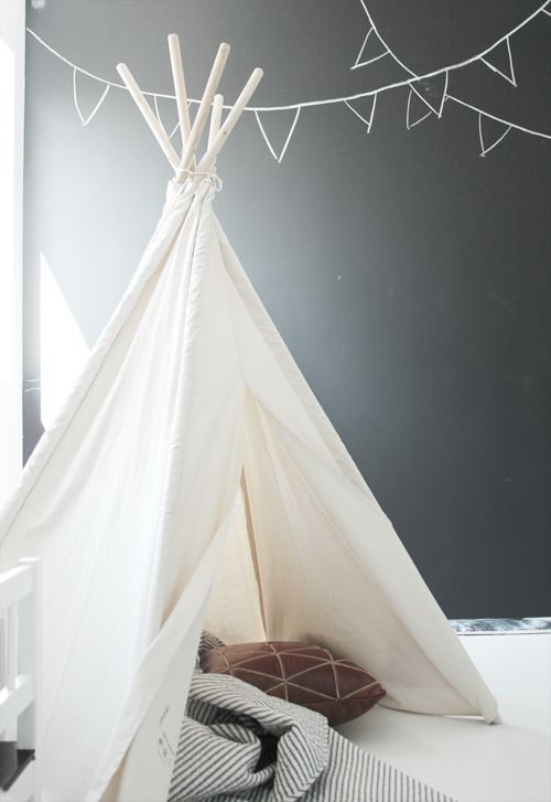 DIY the Indian Tipi for Children's Room