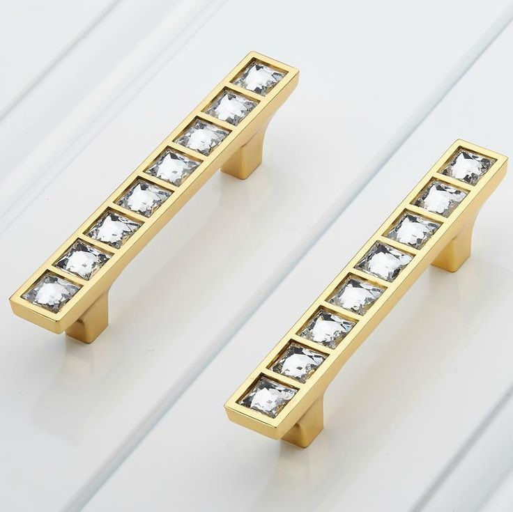 glass dresser pulls crystal drawer pull handles square silver clear cabinet handle knobs pulls furniture
