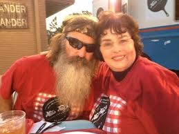Love this picture of Duck Dynasty's Phil & Kay