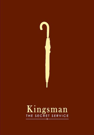 Kingsman: The Secret Service (2014) ~ Minimal Movie Poster by Dat Tran #amusementphile