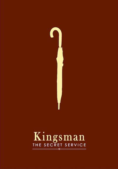Kingsman: The Secret Service (2014) ~ Minimal Movie Poster by Dat Tran #amusementphile