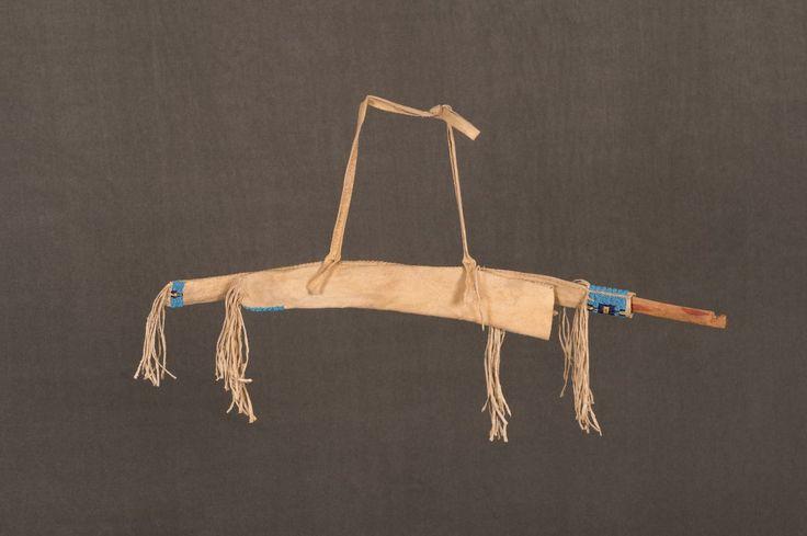 Lakota Sioux Beaded Boy's Bowcase, Bow and Quiver - Auction in Santa Fe