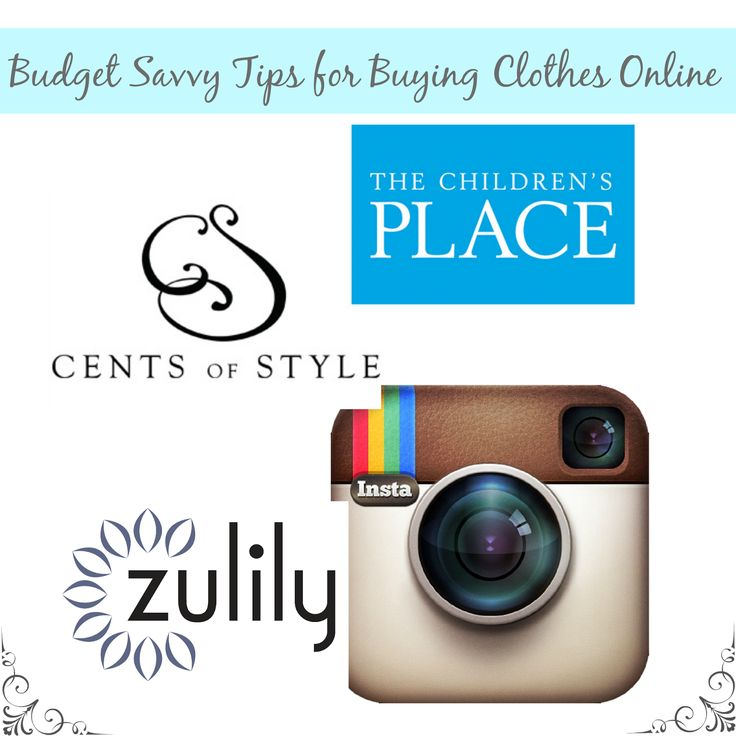 Budget Savvy Tips for Buying Clothes Online via thefrugalfoodiemama.com