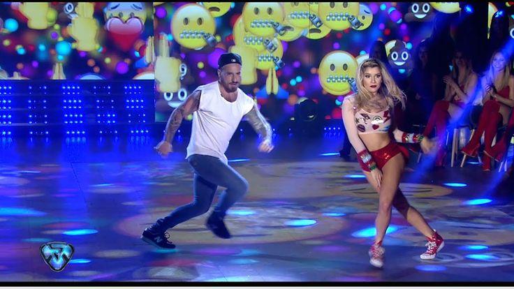 Fede Baul y Laurita Fernández bailaron Cumbia Pop pero no brillaron como...