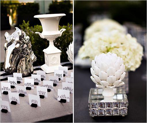 Les 25 meilleures id es de la cat gorie mariage baroque sur pinterest - Decoration pour reception ...