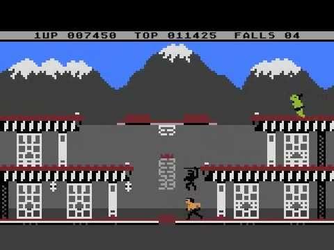 ▶ Atari 800 XL - Bruce Lee - almost Speedrun, 1/2 - YouTube